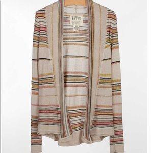 Billabong Pent Up Stripe Cardigan Sweater
